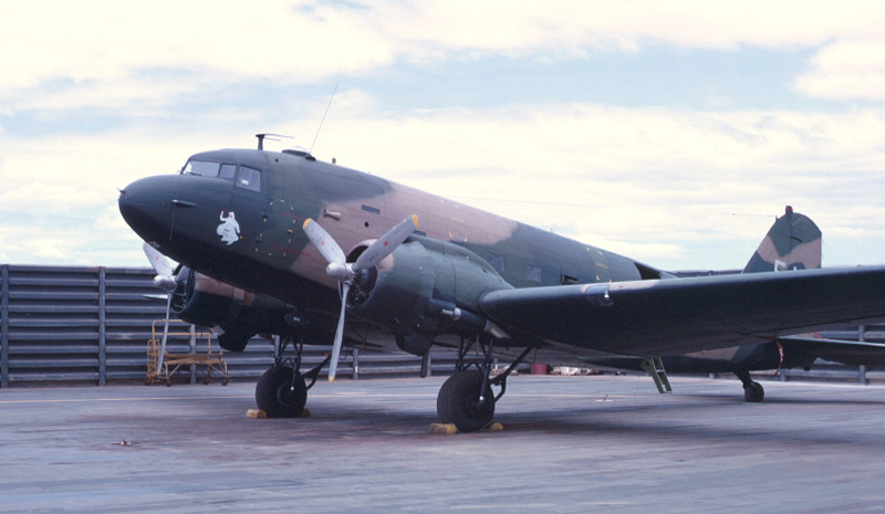 AC-47 Parked